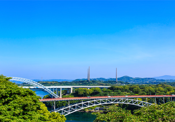 A Course with Panoramic-View of Saikai and Culture of West Kyushu